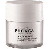 scrub e mask máscara esfoliante oxigenante rejuvenescedora da pele 55ml