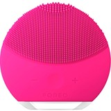 Luna mini  2 compact facial cleansing brush all skin type fuchsia