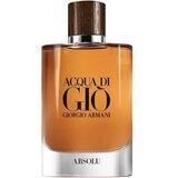 acqua di giò absolu eau de parfum para homem 125ml