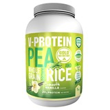 v-protein from pea and brown rice vanilla flavor 1kg