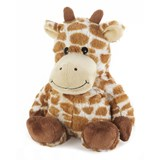 cozy plush giraffe