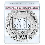 hair ring power crystal clear 3 units