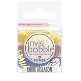 hair ring power pretzel brown 3 units