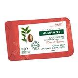 cream soap with organic c.upuaçu hibiscus flower 100g