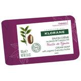 cream soap with organic cupuaçu fig leaf 100g