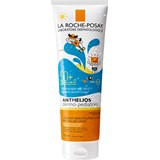 anthelios dermo pediatrics gel invisível tecnologia wet skin spf50 250ml