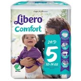diapers comfort 10-16kg, 24 units