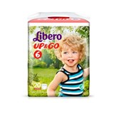 up & go diapers 13-20kg, 20 units