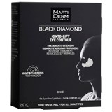 black diamond ionto-lift contorno de olhos rugas profundas 4x2 patches