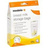 sacos de conservação de leite materno 25unidades