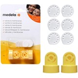 Medela Pack 2 válvulas 6 membranas de vácuo
