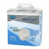 mobile ideal-fit extra disposable underwear large (no 3) 100-150cm 14units
