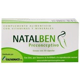 Natalben Natalben preconceive maternity fertility supplement 30caps