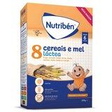papa 8 cereais e mel com leite adaptado 300g