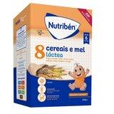 Nutriben Papa 8 cereais e mel com leite adaptado 600g