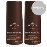 duo men 24h protection deodorant roll on 2x50ml