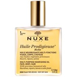 huile prodigieuse rich oil nourishing and illuminator very dry skin 100ml