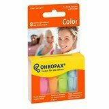 color foam ear plugs 8 units