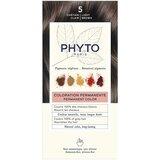 phytocolor coloração permanente 5 castanho claro