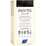 phytocolor permanent hair dye 4 brown
