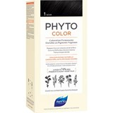 phytocolor permanent hair dye 1 black