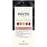 phytocolor coloração permanente 1 preto