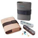 pilbox cardio caixa para comprimidos e saquetas 2 cores