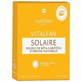 vitalfan solar preparador de bronzeado 30cápsulas