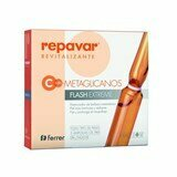 ampolas de vitamina c com 5,5% flash extreme metaglicanos 5x1ml
