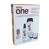 uniqone all in one shampoo côco 300ml + spray tratamento côco 150ml