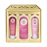 coffret gingembre rouge intense edp 50ml + gel duche 50ml + creme corpo 50ml