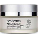 Acglicolic 20 creme hidratante antirrugas peles secas spf15 50ml