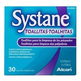 systane wipes for cleaning the eyelid 30wipes
