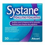 systane toalhitas para limpeza das pálpebras 30toalhitas (validade 07/2020)