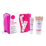 gift pack cc spf 30 for normal to dry skin 50ml + cc eye contour 15ml