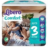 diapers comfort 5-9kg, 30 units