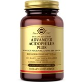 advanced acidophilus plus suplemento probiótico 60cápsulas (validade 05/2019)