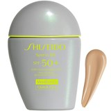 Shiseido Sports bb spf50+ wetforce solar com cor medium 30ml
