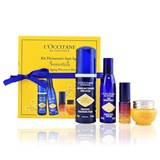 immortelle kit: espuma 50ml + creme 8ml + eau essentielle 30ml + serum-óleo 5ml