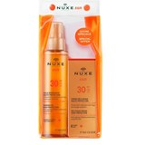 tanning oil for face and body spf30 150ml + face cream spf30