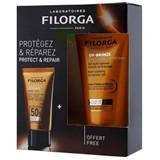 uv-bronze fluido solar spf50 40ml + uv-bronze after-sun 50ml
