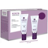neoretin gel-creme despigmentante spf50 40ml + sérum 30ml