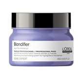 serie expert blondifier repairing and illuminating mask 250ml