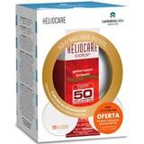 gel-creme brown spf50 50ml + 2 pós compactos cor castanha e clara 2.5g