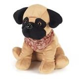 cozy plush pet pugsy