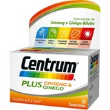 centrum plus ginseng and gingko biloba 30comp.