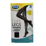 light legs collant de compressão 60den preto tamanho s