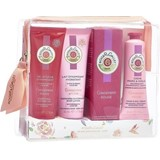 coffret gingembre rouge 50ml+gel douche 50ml+leite corpo 50ml +creme mãos 30ml