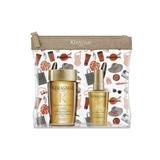 kit elixir ultime bain shampoo brilho e leveza 80ml + l'huile 50ml