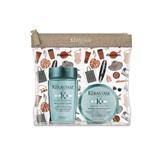 kit resistance bain extentioniste shampoo de crescimento 80ml + máscara 75ml